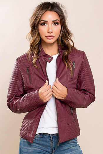 Junior Faux Leather Jacket