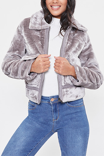 Junior Faux Fur Jacket