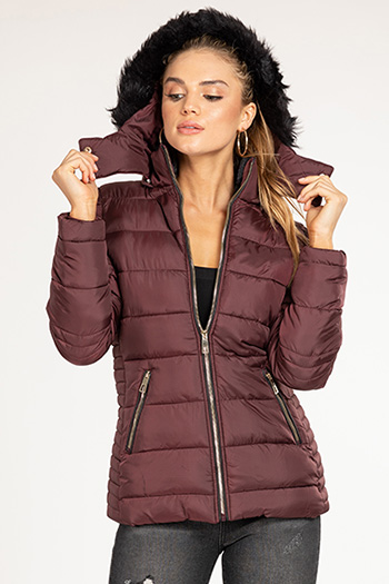 Junior Long Parka with Detachable Hoodie