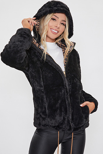 Junior Faux Fur Reversable Jacket
