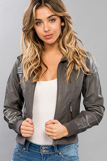 Junior Faux Leather Jacket