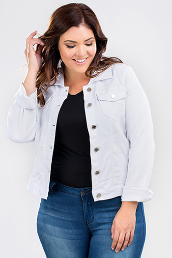Junior Plus Size Hyperstretch Jacket