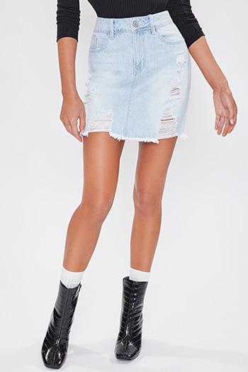 Junior Dream Destructed Midi Skirt