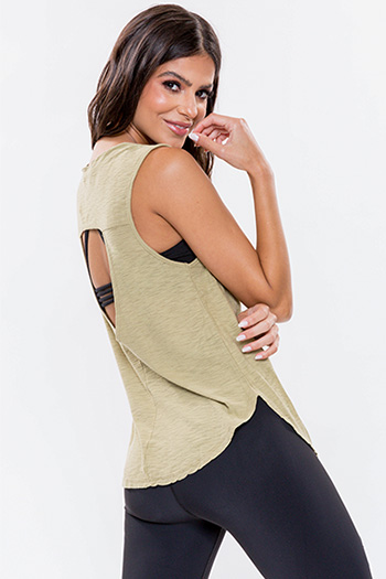 Junior Lounge Tank With Peek-A-Boo Back