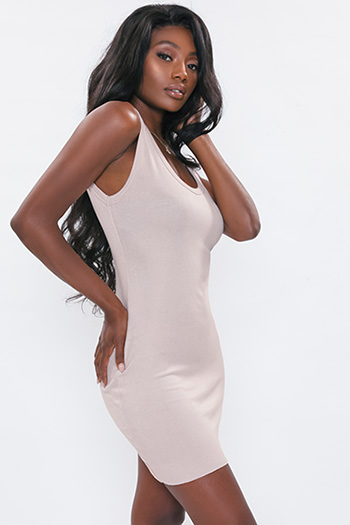 Junior Classic Ribbed Tank Dress