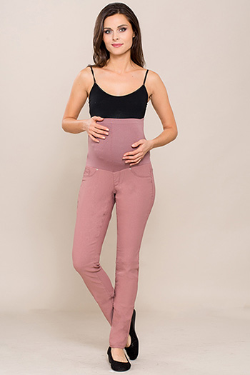 Maternity Hyperstretch Overbelly Skinny Jean