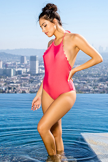 Junior Scallop One-Piece Swimsuit