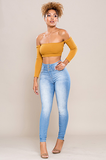 Junior High-Rise Super Soft Skinny Jean