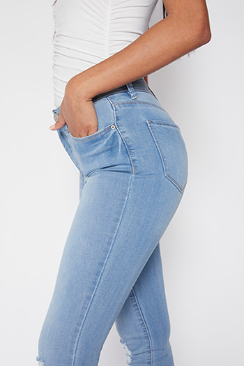 Junior High-Rise Skinny Jean
