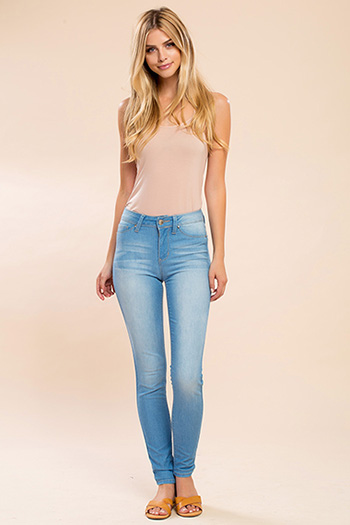 Junior Super Soft Mid-Rise Skinny Jean