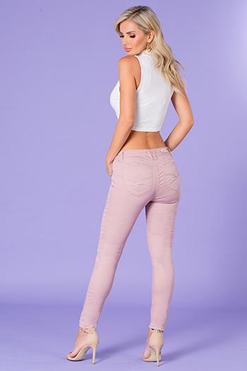 Junior WannaBettaButt Mid-Rise Skinny Jean