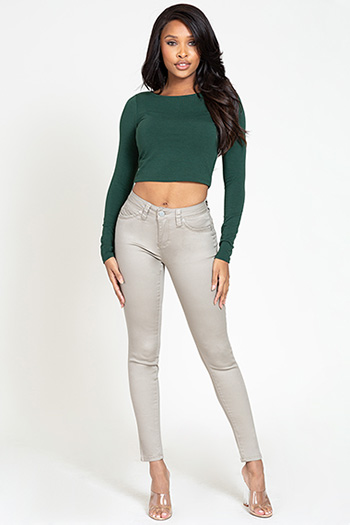 Junior WannaBettaButt Mid-Rise Denim Skinny Jean