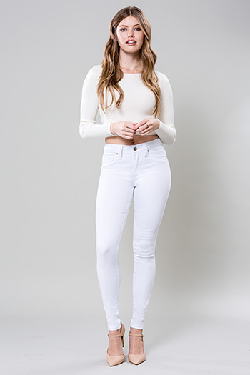 Junior WannaBettaButt Mid-Rise Super Soft Skinny