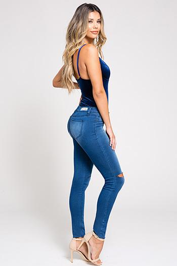 Junior Super Soft Skinny Jean with Knee Slits
