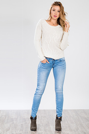Junior Cross Pocket Design Skinny Jean