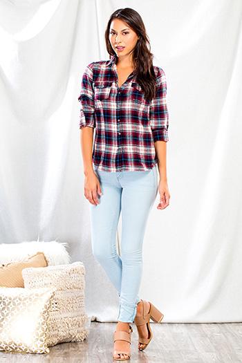 Junior Mega Cuff Luxe Skinny Jean