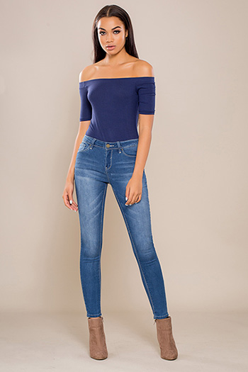 Junior Luxe Mid-Rise Skinny Jean