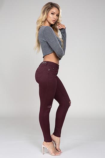 Junior WannaBettaButt Mid-Rise Skinny Jeans