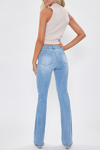 Junior Basic Mid-Rise Denim Bootcut Jean