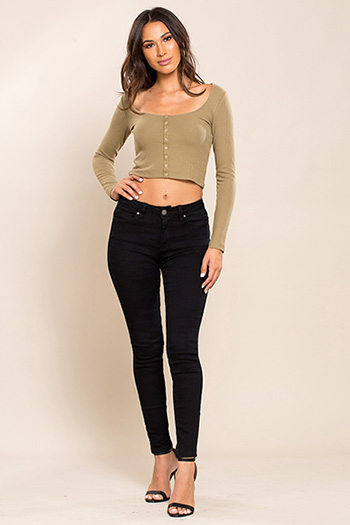 Junior Hide Your Muffin Top High-Waist Skinny Jean