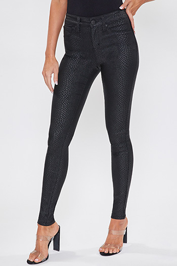Junior Mid-Rise Hyperstretch Coasted Skinny Jean