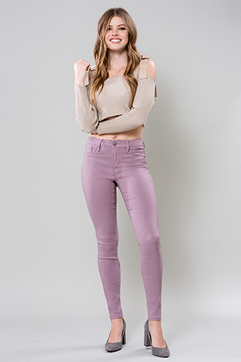 Junior Hyperstretch Mid-Rise Skinny