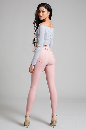 Junior WannaBettaButt Ponte High-Rise Skinny