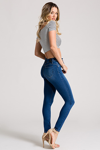 Junior Luxe Lift Super High-Rise Skinny