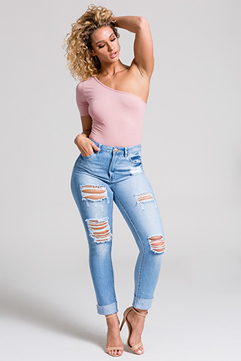 Junior Dream High-Rise Cuffed Ankle Jean