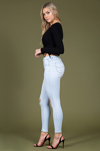 Junior WannaBettaButt High-Rise Denim Skinny Jeans
