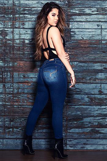 Junior Wannabettabutt High-Rise Skinny Jean