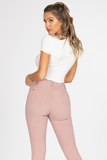 Junior Hide Your Muffin Top Hyperstretch Skinny Jeans