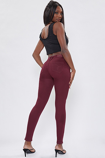 Junior WannaBettaButt High-Rise Skinny Jean With Triple Dart Detailing