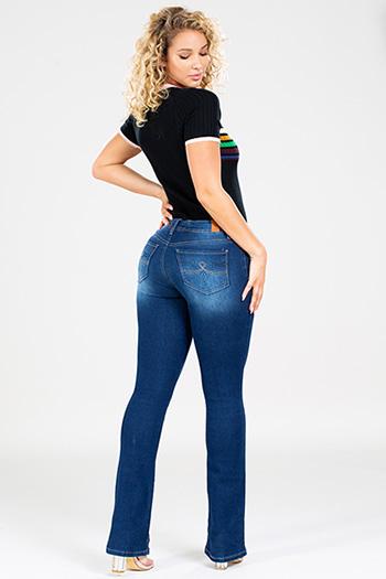 Junior Mid-Rise Bootcut Jean