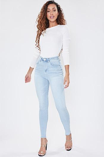 Junior Secrets Super High-Rise Denim Skinny Jeans