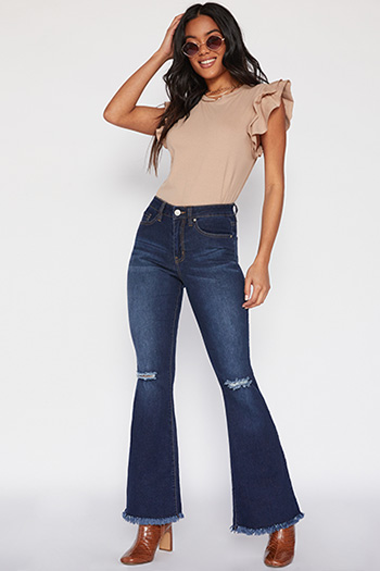 Junior High-Rise Super Flare Jean