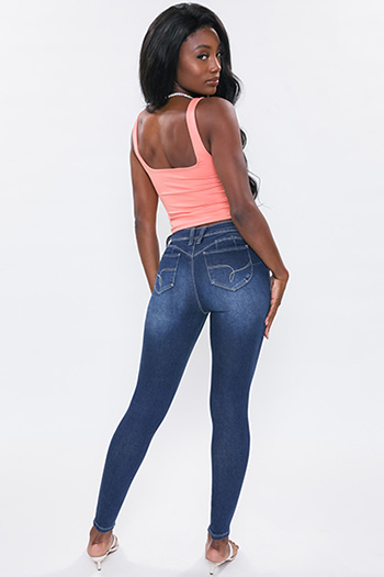 Junior WannaBettaButt Mid-Rise Skinny Jean Made Wtih Recycled Fibers