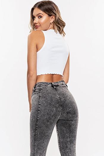 Junior Secrets 1 Button High-Rise Skinny Jean