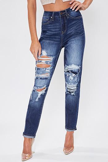 Junior Dream High-Rise Rip & Repair Jeans