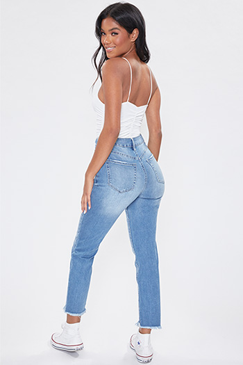 Junior Hybrid Dream Slim Straight Ankle Jean