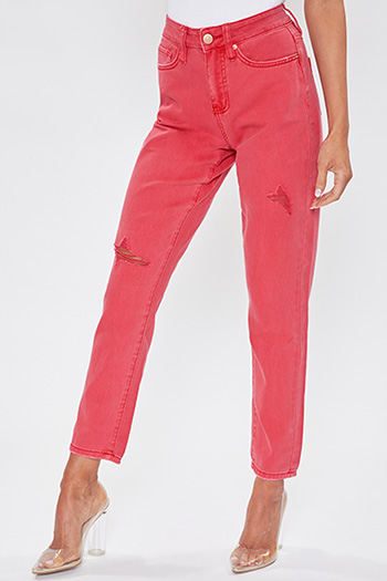 Junior Dream High-Rise Mom Fit Jean