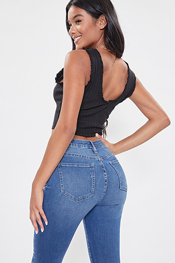 Junior YMI Denim Collection High-Rise Skinny Jean