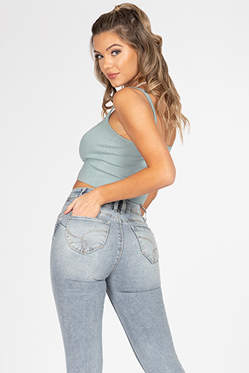 Junior WannaBettaButt Vintage Dream High-Rise Skinny Jean
