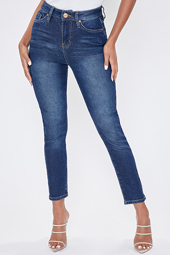 Junior Vintage Dream High-Rise Ankle Jean With Regular Hem
