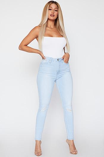 Junior Curvy Fit High-Rise Skinny Jean