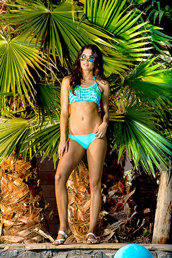 Junior Tie-Dye Fringe Bikini