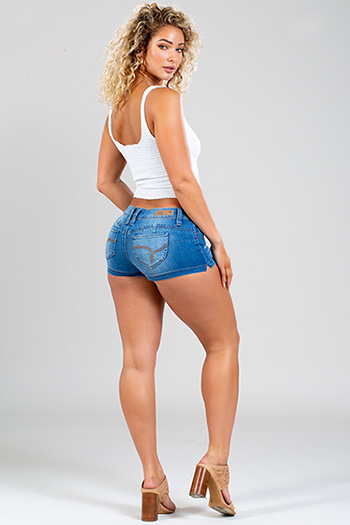 Junior WannaBettaButt Shorts with Side Slit