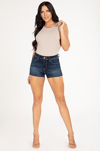 Junior Luxe Lift Jade Shorts with Side Slit