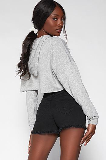 Junior WannaBettaButt High-Rise Frayed Hem Shorts Made With Recycled Fibers