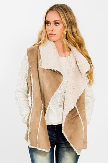 Junior Faux Sheepskin Vest